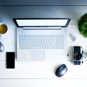 Canva - Photography of Laptop Computer, Camera, Smartphone, Headphones, And Mug